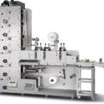 Флексографическая машина для печати этикеток с тремя секциями вырубки ZBS-320G/450G